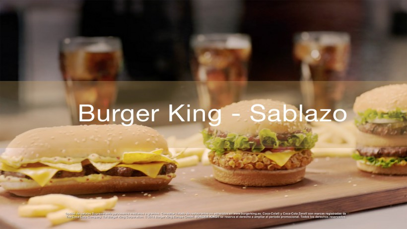 BURGER KING SABLAZO