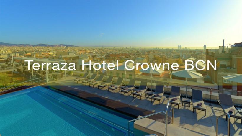 Terraza Hotel Crowne BCN